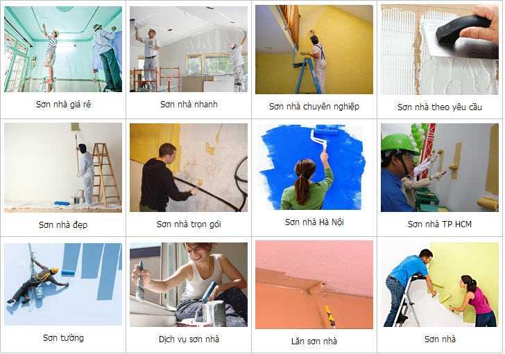 Thợ sơn nhà ở quận 10