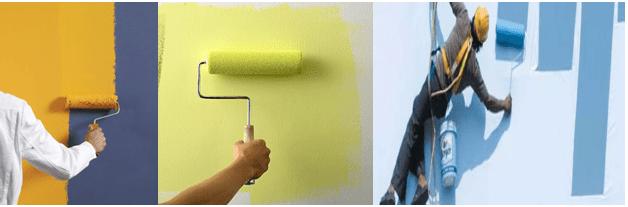 Thợ sơn nhà ở quận 12 Call 0912655679