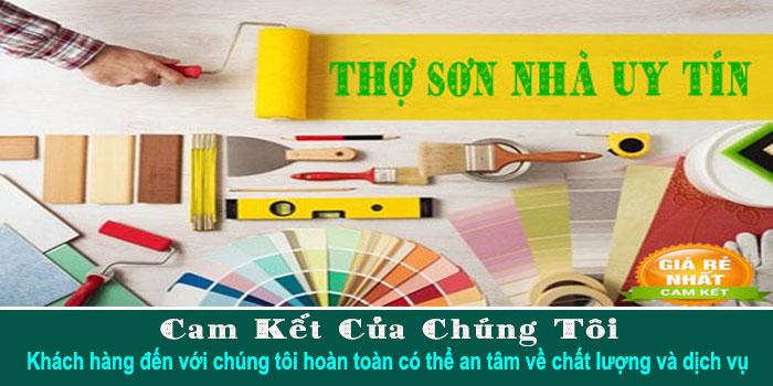 Thợ sơn nhà ở quận 7 uy tín chuyên nghiệp