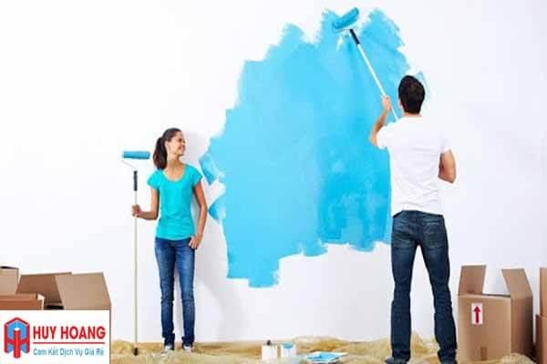 Thợ sơn nhà ở quận 8