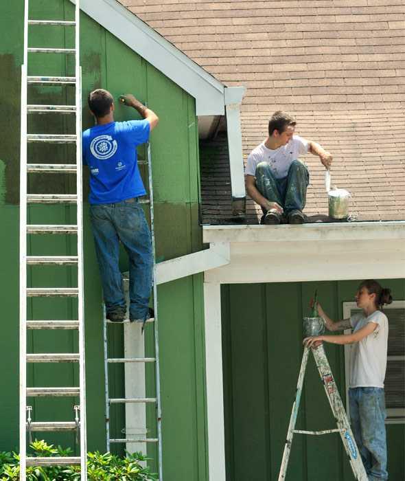 Thợ sơn sửa nhà tại quận 1 tphcm