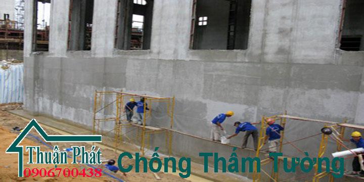 Chống thấm tường tại TPHCM