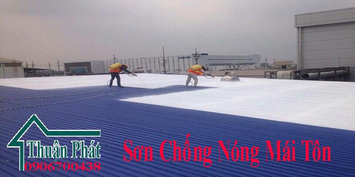 Sơn chống nóng mái tôn ở TPHCM