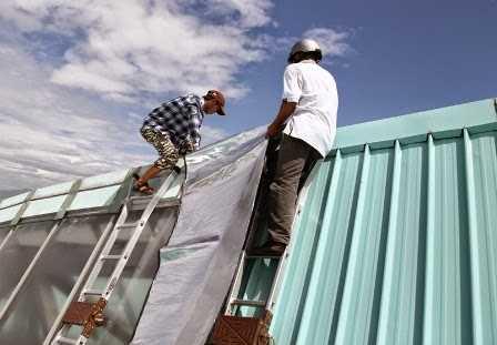 Thi công mái tôn tại tphcm - Dịch vụ làm mái tôn mới - Dịch vụ uy tín tại tphcm - Chất lượng đảm bảo Hotline 0906 700 438