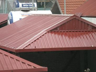 Chống dột mái tôn ở tại quận 11