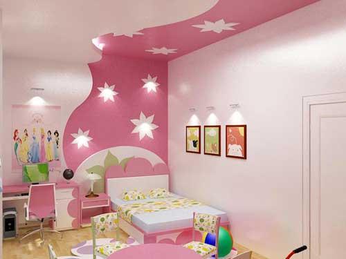 trần thạch cao phòng trẻ em đẹp