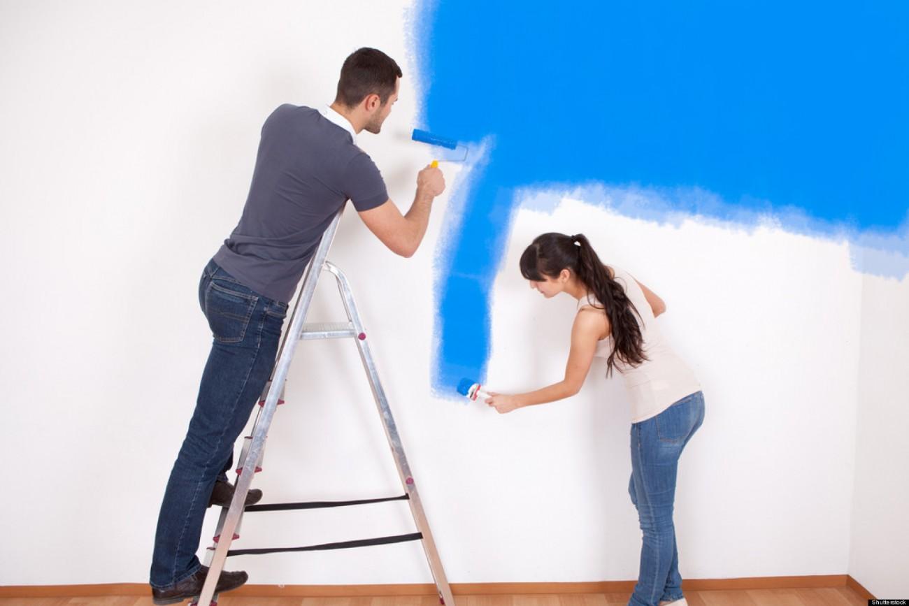 Dịch vụ sơn nhà cũ tại quận 6