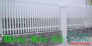 Làm hàng rào sắt ở tại TPHCM, Bình Dương, Đồng Nai uy tín đẹp