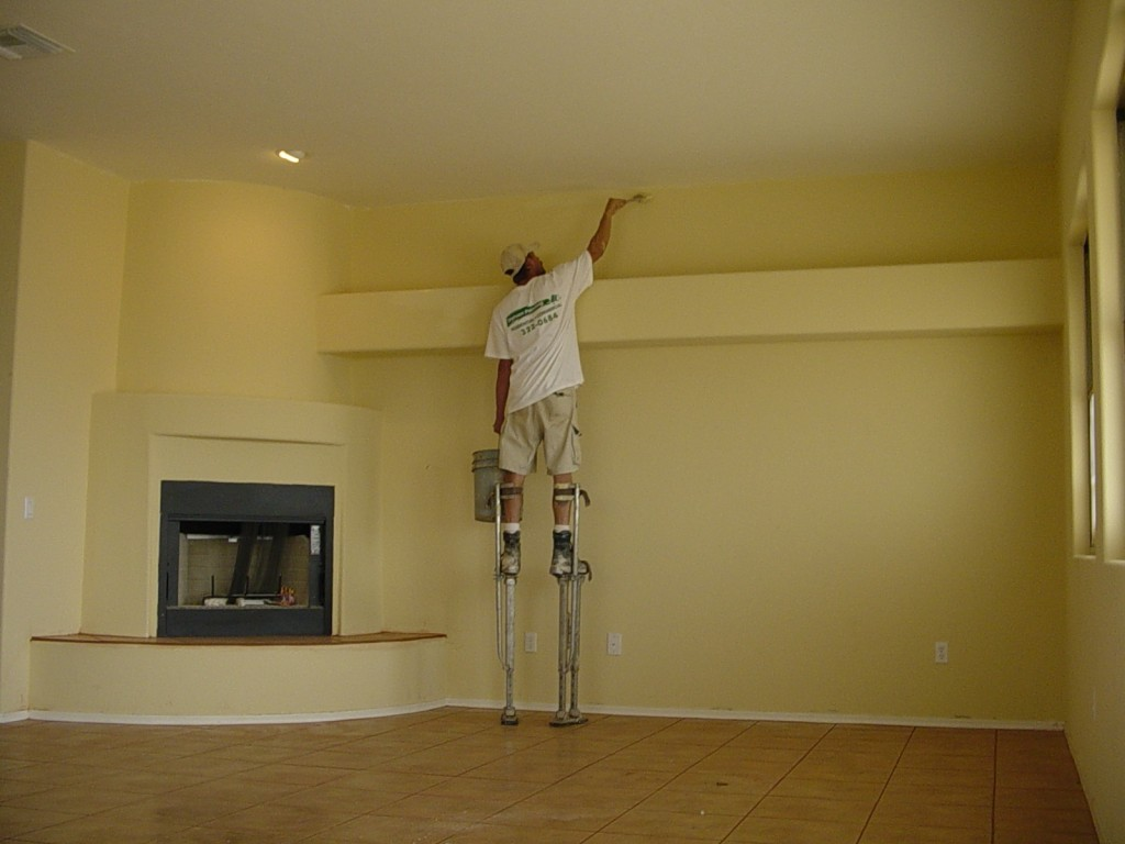 Dịch vụ sơn nhà cũ tại quận 10