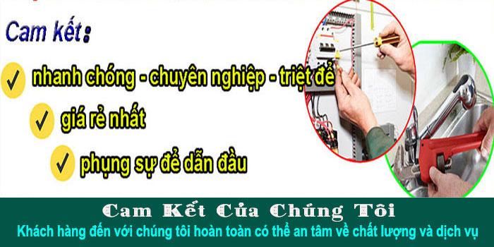 Dịch vụ sửa điện nước tại quận tân phú giá rẻ
