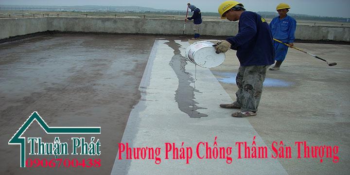 Phương pháp chống thấm sân thượng chất lượng