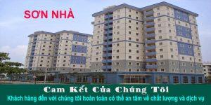 Nhận sơn nhà chung cư tại TPHCM
