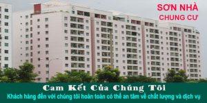Nhận sơn nhà chung cư tại TPHCM giá rẻ