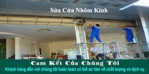 Dịch vụ sửa cửa nhôm kính tại TPHCM