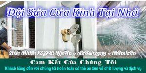 Dịch vụ sửa cửa nhôm kính tại TPHCM giá rẻ