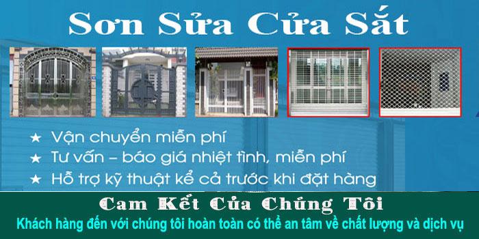 Thợ sơn sửa cửa sắt tại TPHCM chuyên nghiệp