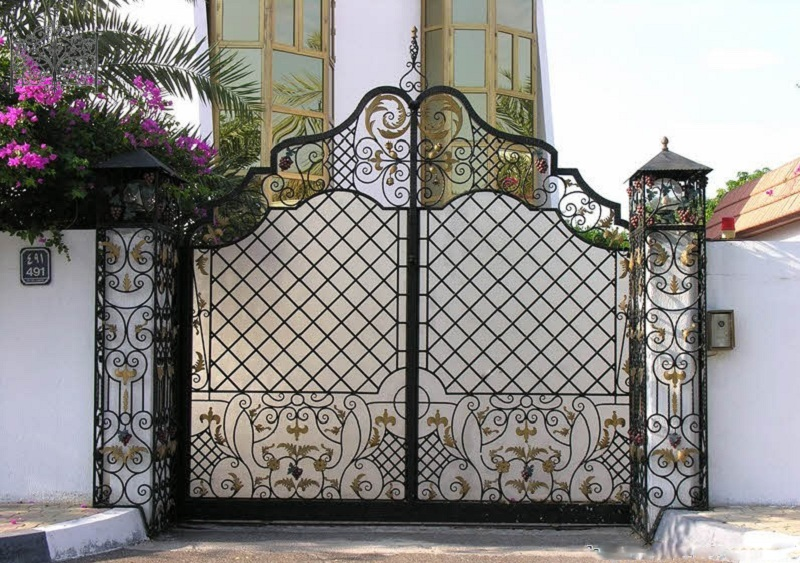 cập nhật 50 mẫu cửa sắt cổng sắt đẹp