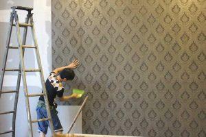 Công ty chuyên thi công giấy dán tường