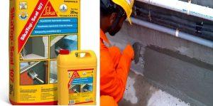 Hướng dẫn quy trình thi công chống thấm bằng sikatop seal 107