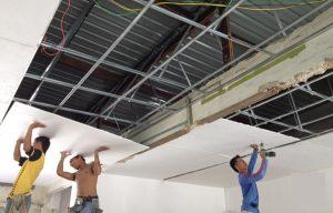 thợ sửa trần thạch cao nhanh