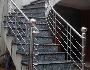 Báo giá thi công làm cầu thang inox