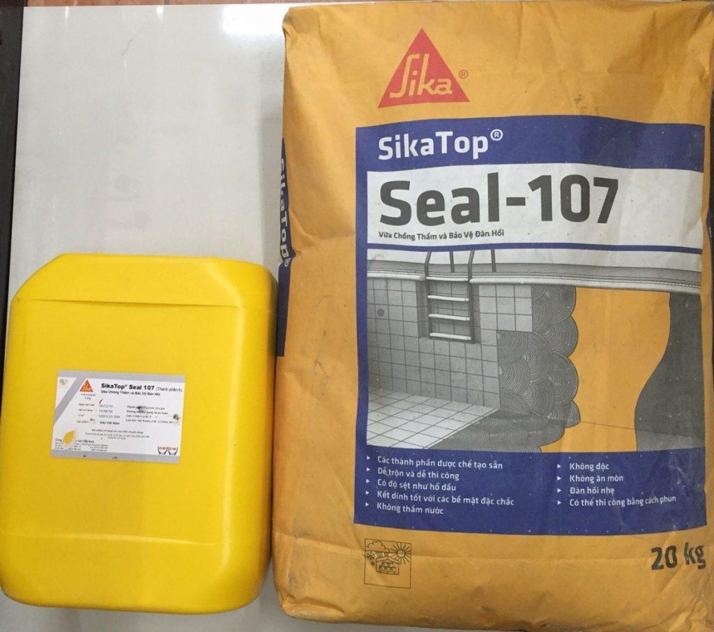Sikatop Seal 107 Vữa Chống Thấm Và Bảo Vệ Đàn Hồi