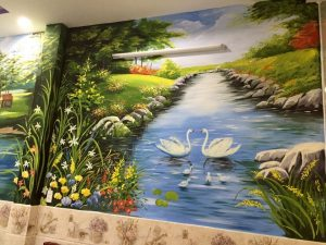 Vẽ tranh phong cảnh