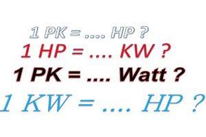 Tìm hiểu 1kw bằng bao nhiêu w - Hướng dẫn cách quy đổi đơn vị