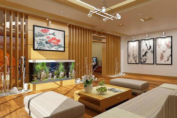 Thiết kế phòng khách theo xu hướng tân cổ điển