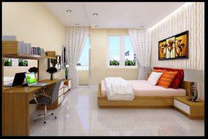 Mẫu phòng ngủ với thiết kế đơn giản, trang nhã