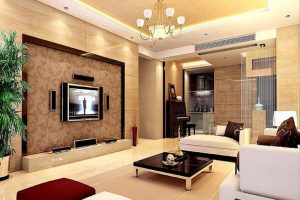 Mẫu trang trí phòng khách theo xu hướng thời thượng
