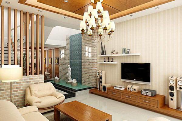 Thiết kế mẫu phòng khách mang phong cách lịch lãm và tao nhã