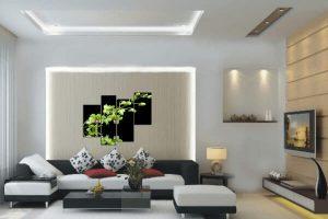 Thiết kế mẫu phòng khách theo xu hướng tối giản