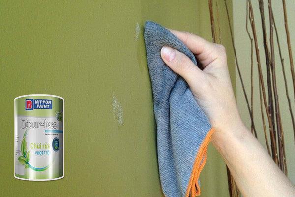 7.Sơn Odour-less chùi rửa vượt trội