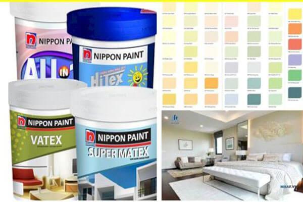 4.Sơn Nippon Matex Super White