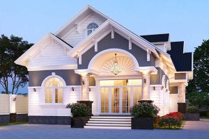 Những ngôi biệt thự đẹp với thiết kế sử dụng mái ngói
