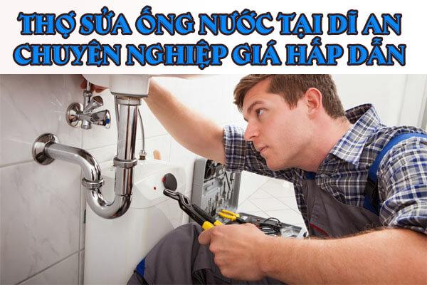 Thợ sửa ống nước tại Dĩ An